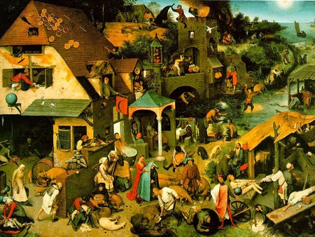 Habicher Besinnliche Coronazeit proverbs Pieter Bruegel il Vecchio Google Cultural Institute