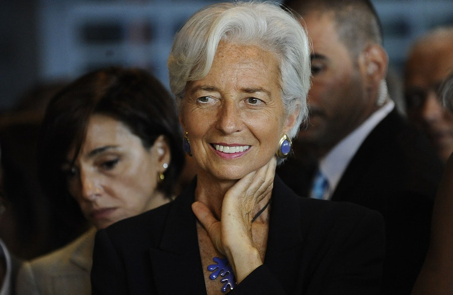 All the best, Mme Lagarde!
