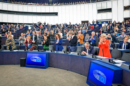 EP plenary session: One last time