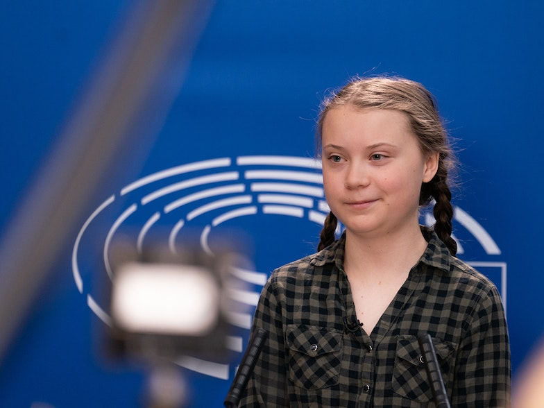 Greta Thunberg EUreka! Eurac research blogs European elections