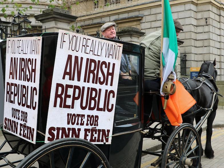 Sinn Féin Ireland IRA EUreka! Eurac research blogs European Elections