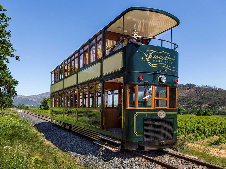 Wine tram Winschhoek AgriCulture Eurac Research Blogs