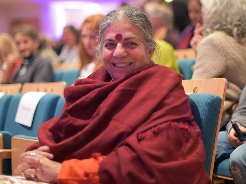 Vandana Shiva Agriculture Eurac Research Blogs Jutta Staffler