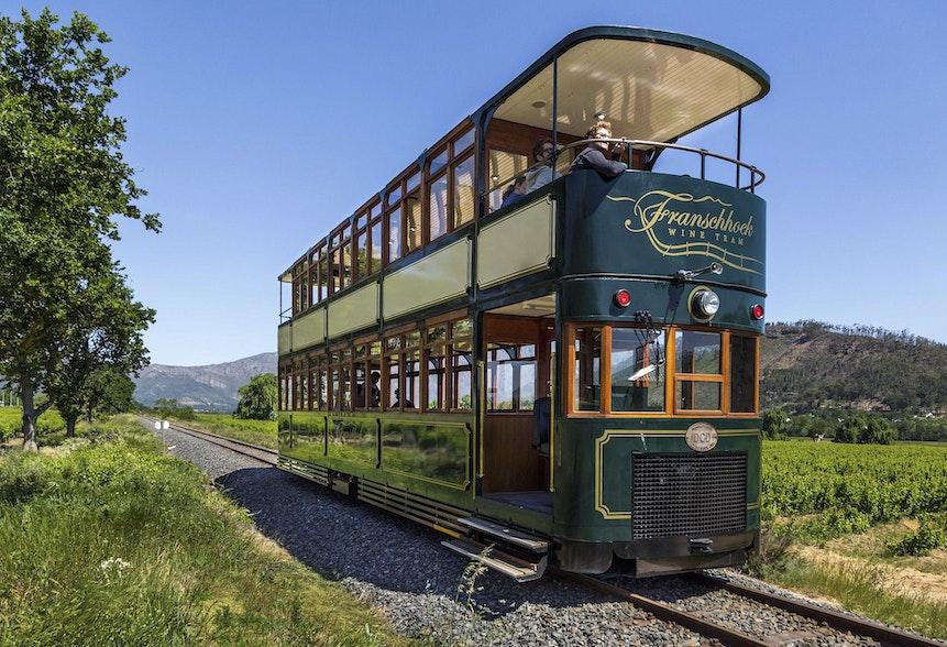 Picture: The Franschhoek Wine Tram. Werner Bayer/Flickr