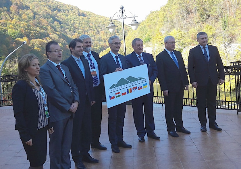 Eurac Research contributes to the sustainable development of the Carpathian Convention