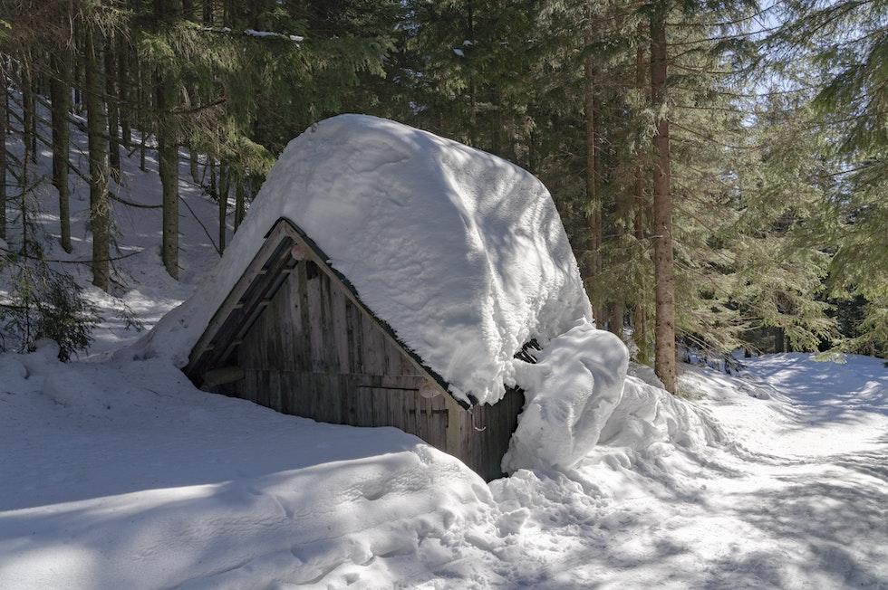 Schneemassen wird es auch künftig immer wieder geben, trotz insgesamt abnehmender Schneemengen: Durch den Klimawandel könnten starke Schneefälle sogar extremer werden.