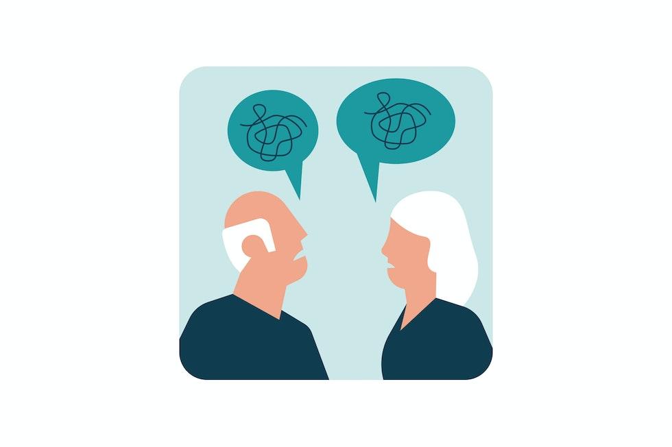 Alterazioni cognitive fino alla demenza: la persona malata perde poco a poco la lucidità e la memoria