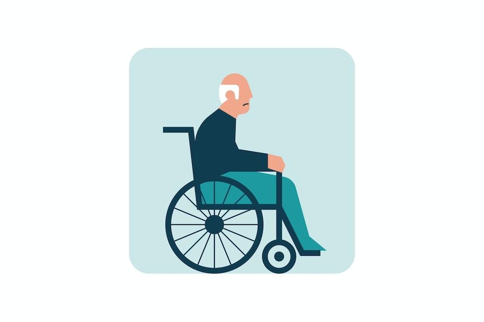 Negli stadi avanzati l'invalidità quasi inevitabile